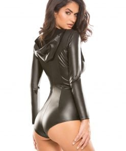 Skin Tight Hooded Jumper – Size L/XL