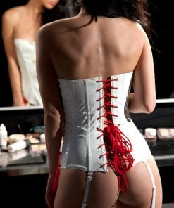 Vinyl 3-Piece Set Nurse Corset – Size XL