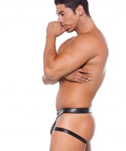Wet Look Brief Style Jock Strap – Size One Size Fits Most