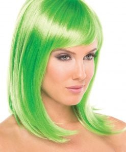 Doll Wig Green – One Size