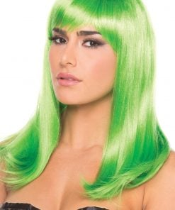Hollywood Wig Green – One Size