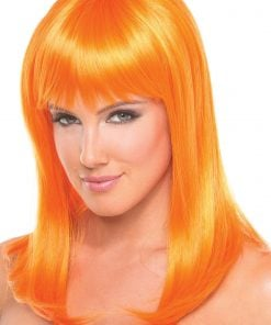 Hollywood Wig Orange – One Size