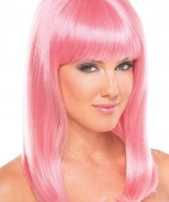 Hollywood Wig Pink – One Size