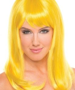 Hollywood Wig Yellow – One Size