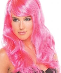 Burlesque Wig Hot Pink – One Size