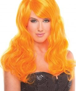 Burlesque Wig Orange – One Size
