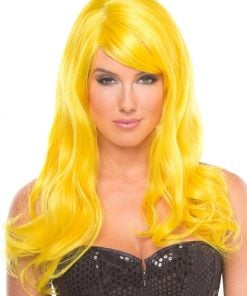 Burlesque Wig Yellow – One Size