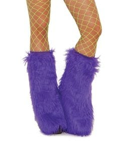 Furry boot covers – Size One Size