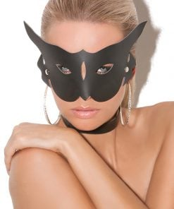 Leather Cat Mask – Size One Size