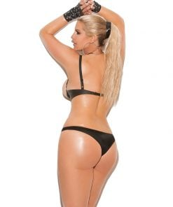 Leather thong. – Size Queen Size