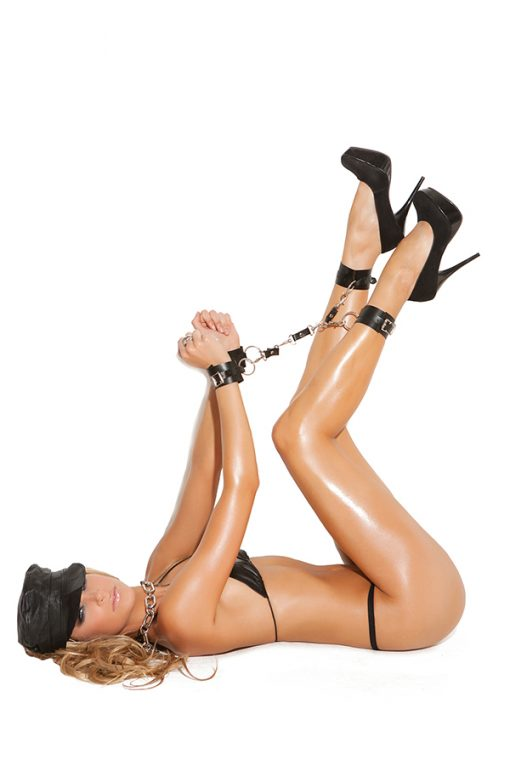 Leather Wrist to Ankle Restraints – Size One Size