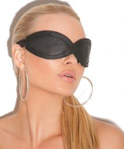 Leather Blindfold – Size One Size