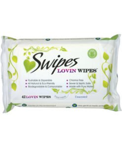 Swipes lovin wipes – unscented 42 pack