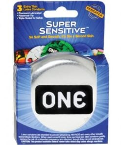 One super sensitive condoms – box of 3