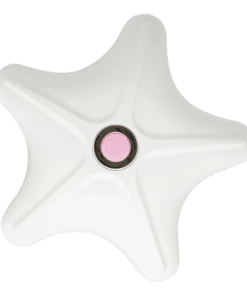 Body Star Massager Pink White