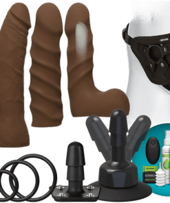 Vac-u-lock Dual Density Starter Set W/wireless Remote – Chocolate