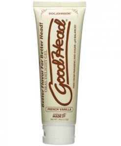 Goodhead Oral Delight Gel French Vanilla 4oz Tube