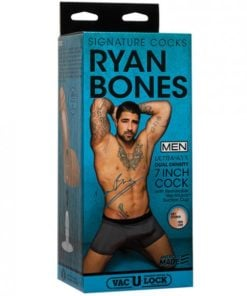 Signature Cocks Ryan Bones 7 inches Cock Replica Dildo