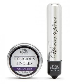 Fifty Shades Of Grey Pleasure Overload Delicious Tingles Gift Set 2 Pieces