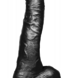 Big Black Cock Twisted Curvy 11 inches Dildo
