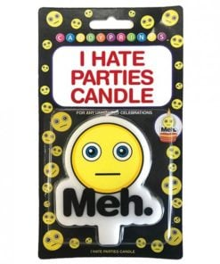 I Hate Parties Candle Meh