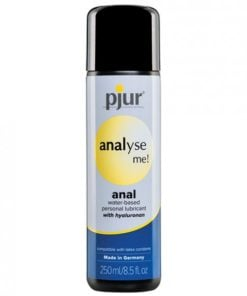 Pjur Analyse Me Water Based Lubricant 8.5 fluid ounces