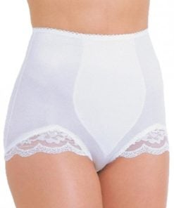 Rago Shapewear Panty Brief Light Shaping White Md
