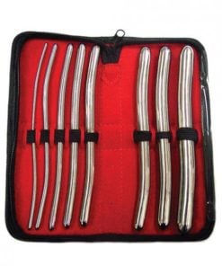 Rouge Stainless Steel Hegar 8 Piece Dilator Set