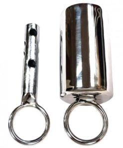 Rouge Stainless Steel Ice Lock Silver