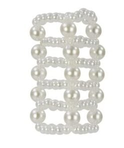 Pearl Stroker Beads Large 3″