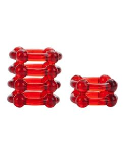 Colt enhancer rings – red