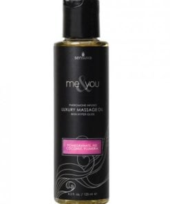 Me & You Massage Oil Pomegranate Fig/Coconut Plumeria 4.2oz