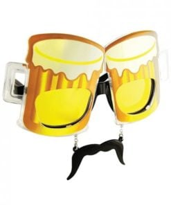 Sun Staches Beer Sunglasses