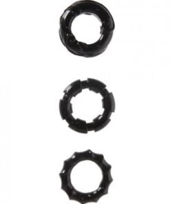 Malesation Stretchy Cock Rings 3 Pack