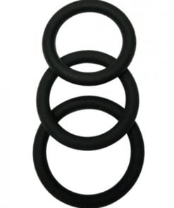 Malesation Cock Ring Set Pack Of 3