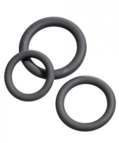 Malesation Cock Ring Set Beginner Black