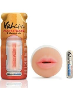 Cyberskin Vulcan Mouth Stroker with Warming Lube