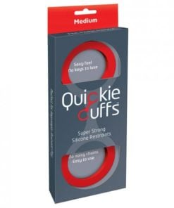 Quickie Cuffs Medium Red