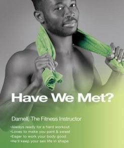 Average Joe Darnell Fitness Instructor Dildo Brown