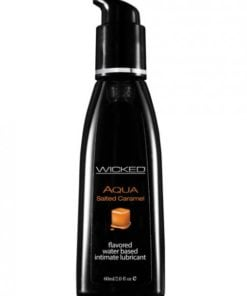 Wicked Aqua Lubricant Salted Caramel 2oz