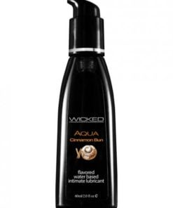 Wicked Aqua Lubricant Cinnamon Bun 2oz