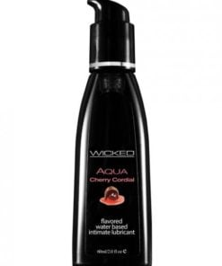 Wicked Aqua Cherry Cordial Lubricant 2oz
