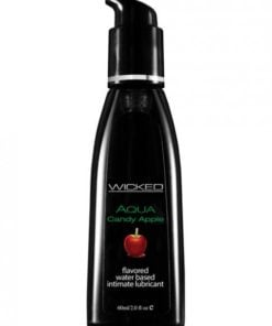 Wicked Aqua Lubricant Candy Apple 2oz