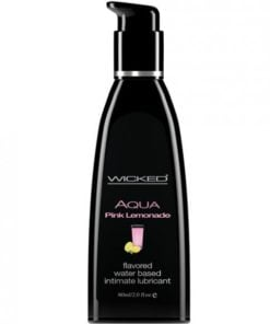 Wicked Aqua Pink Lemonade Flavored Lubricant 2oz