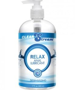 Clean Stream Relax Desensitizing Anal Lube 17.5oz