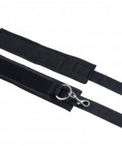 Interlace Over And Under The Bed Restraint Set Black