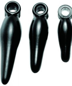 Rimmers 3 Piece Finger Bum Tickler Set Black
