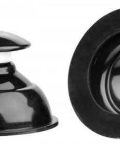 Plungers Extreme Suction Silicone Nipple Suckers Black
