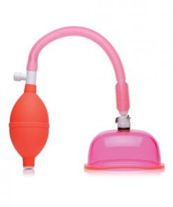 Size Matters Vaginal Pump Large 5 Inches Cup Pink