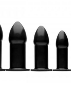 Expansion Trainer Anal Dilator 5 Piece Set Black